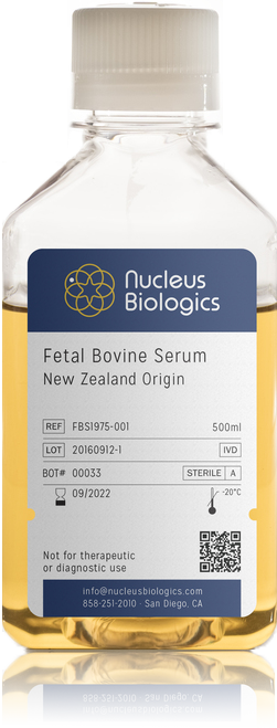 New Zealand Fetal Bovine Serum (FBS)