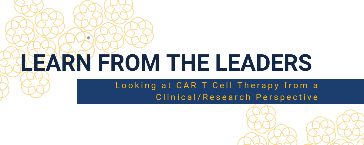 Learn From The Leaders in CAR T Cell Therapy: a Clinical View