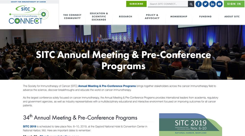 Society for Immunotherapy of Cancer (SITC)