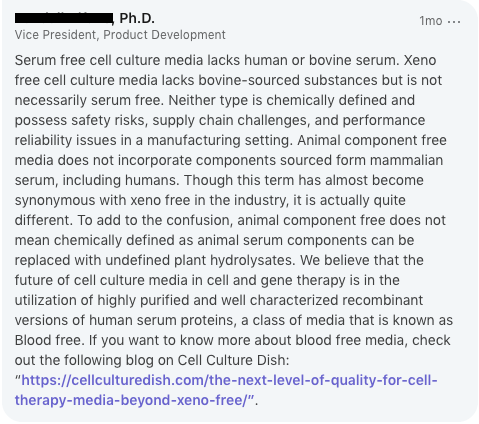 What Does 'Serum-Free' Mean in Cell Culture Media? | Nucleus