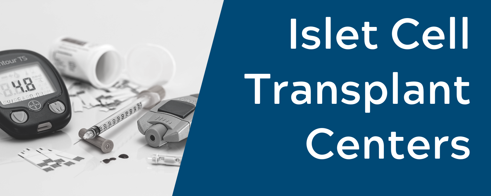 Islet Cell Research & Transplant Centers in the US