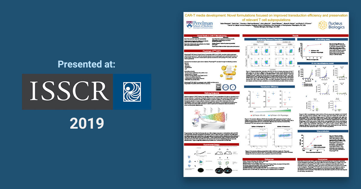 ISSCR 2019 Poster Presentation
