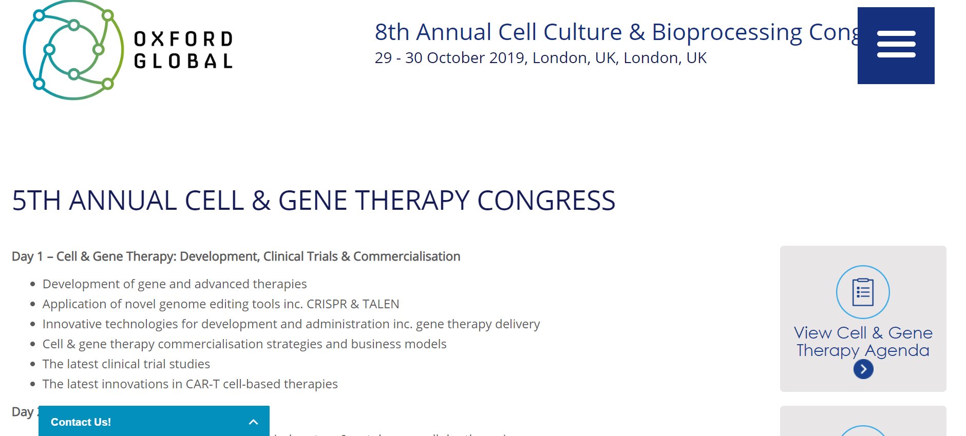 Annual Cell and Gene Therapy Congress