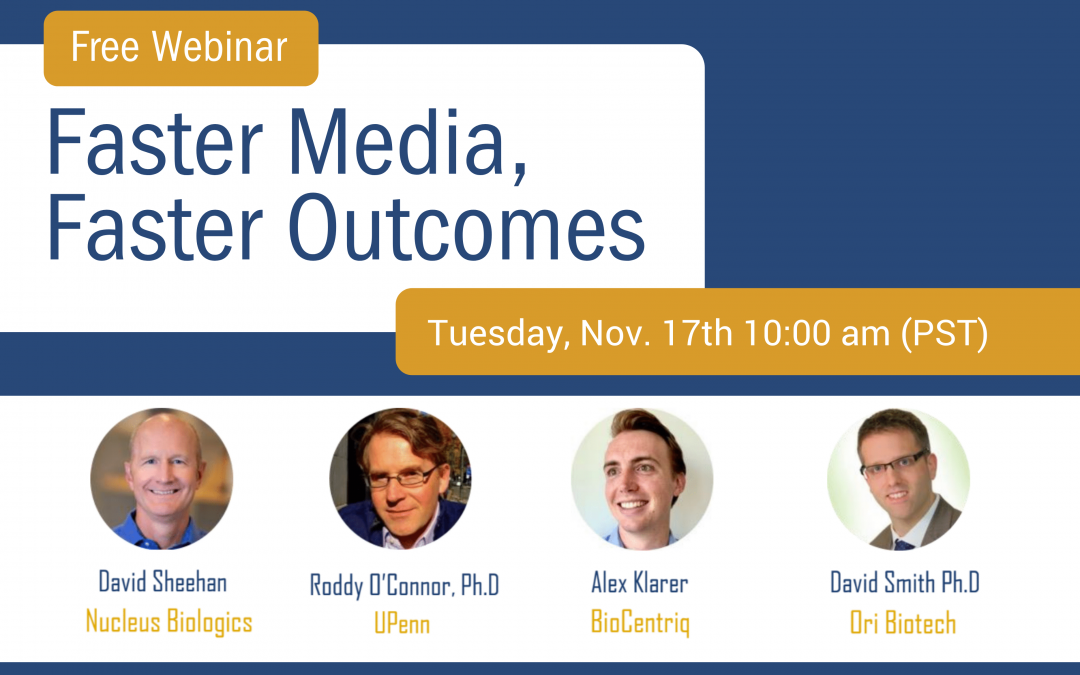 On Demand Webinar:  Faster Media, Faster Outcomes